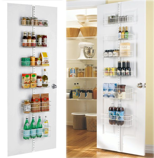 Maximize your storage space with the elfa door and wall Maximize kitchen storage