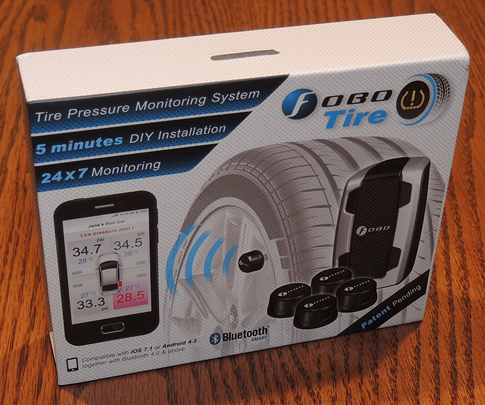 Fobo Tire Bluetooth Smart Tpms Review The Gadgeteer
