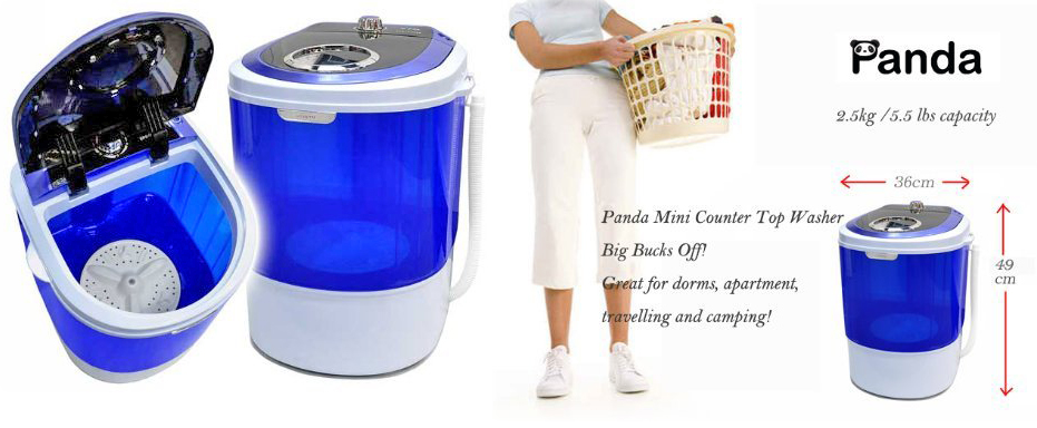 Panda Portable Compact Washer