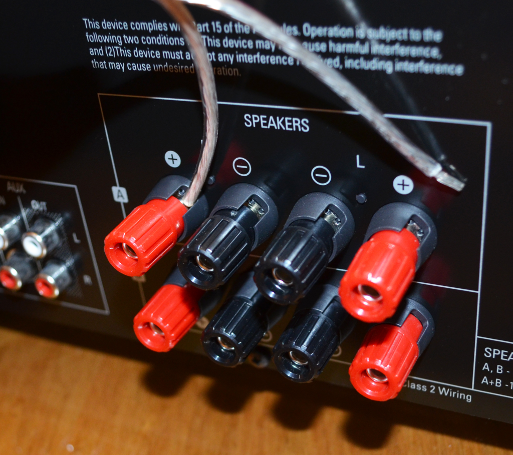 Speaker Cable To Bluetooth : sherwood rx 4508 200w am fm stereo receiver with bluetooth review the gadgeteer ~ Russianpoet.info Haus und Dekorationen