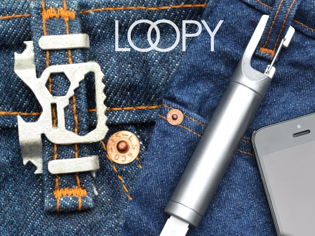 Loopy Multi Tools And Backup Battery Attach To Your Belt Loop For Easy Carry The Gadgeteer