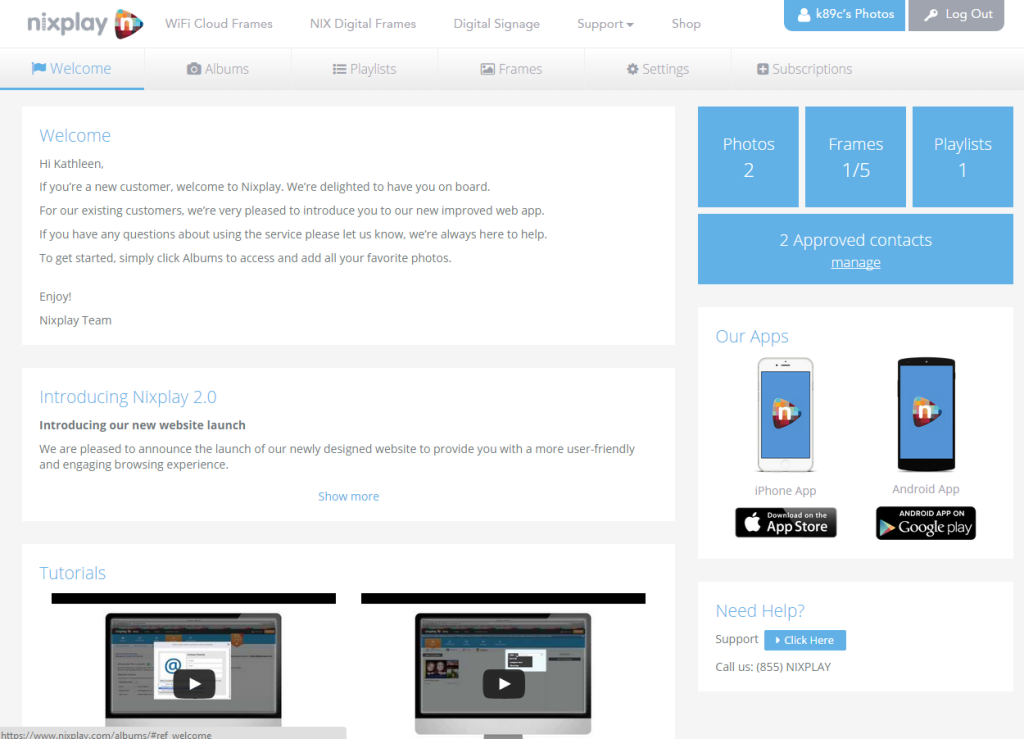 Nixplay Edge 13″ WiFi Cloud Frame review – The Gadgeteer