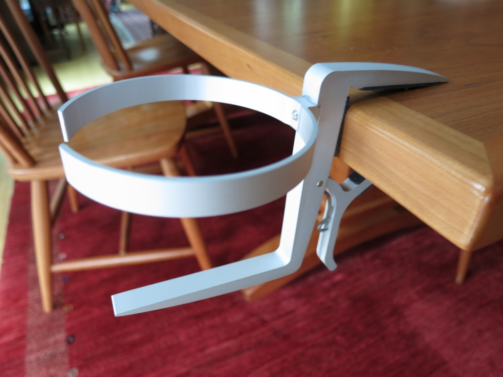 The Cupholder Loop Is Also Spring Loaded. Simply Pull It From The Body And  Twist It Ninety Degrees Into Position. The Quick And Secure Setup Is The  Clever ...