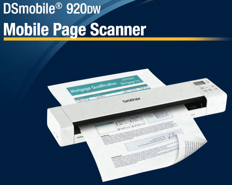 Brother DSmobile 920DW wireless duplex scanner review – The