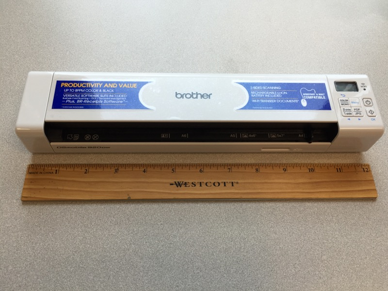 Brother Dsmobile 920dw Wireless Duplex Scanner Review The