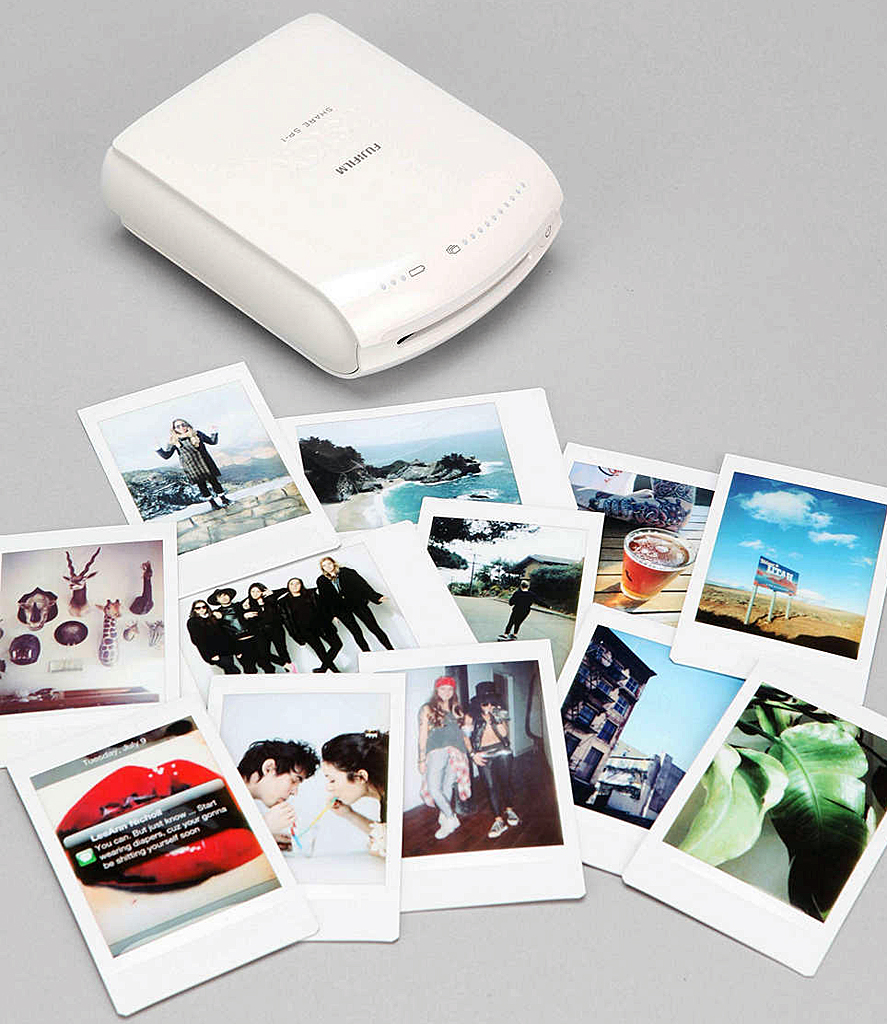 shake it like a polaroid with the fujifilm instax instant smartphone