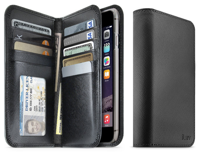 this iphone 6 plus case has an actual wallet in it the gadgeteer. Black Bedroom Furniture Sets. Home Design Ideas
