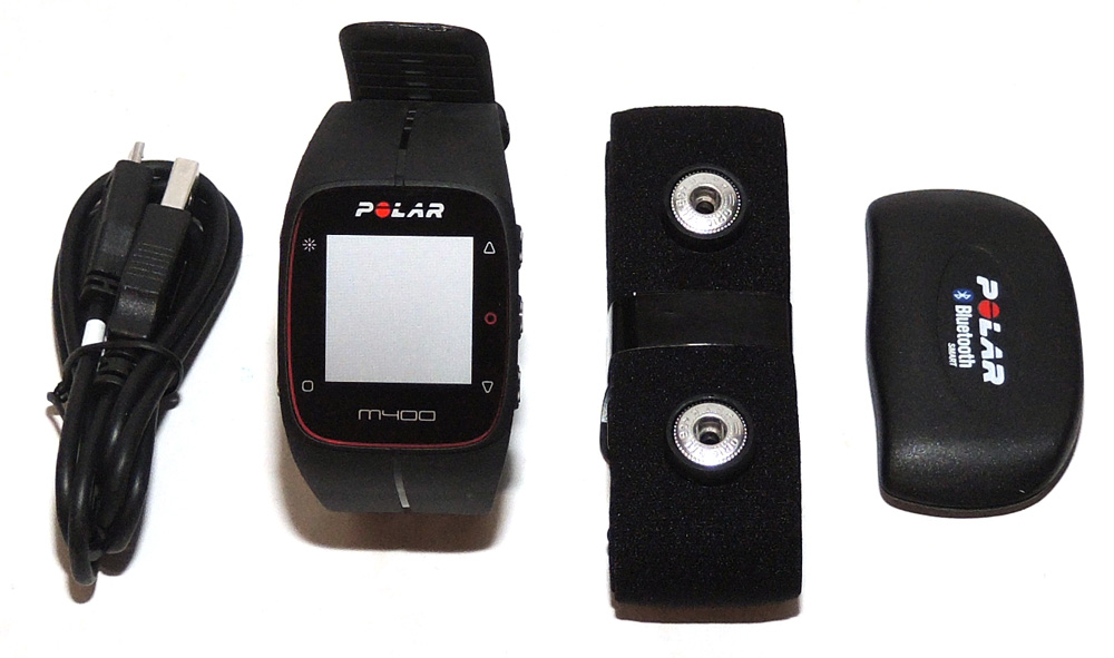 Polar M400 with heart rate sensor review – The Gadgeteer