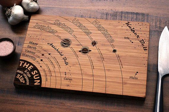 Cool Engraved Cutting Boards For Science Buffs The Gadgeteer