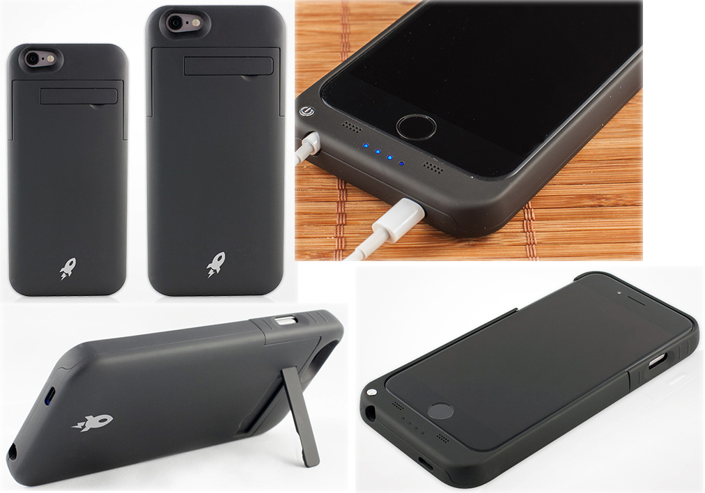 on sale 4bec4 24e0a Afterburner Battery Cases for iPhone 6 and iPhone 6 Plus – The Gadgeteer