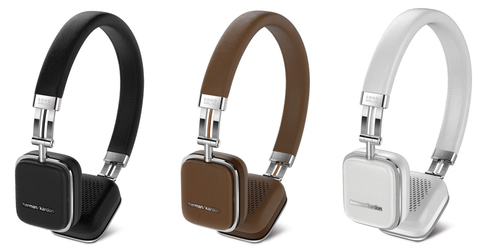 harman kardon soho wireless on ear headphones review the. Black Bedroom Furniture Sets. Home Design Ideas