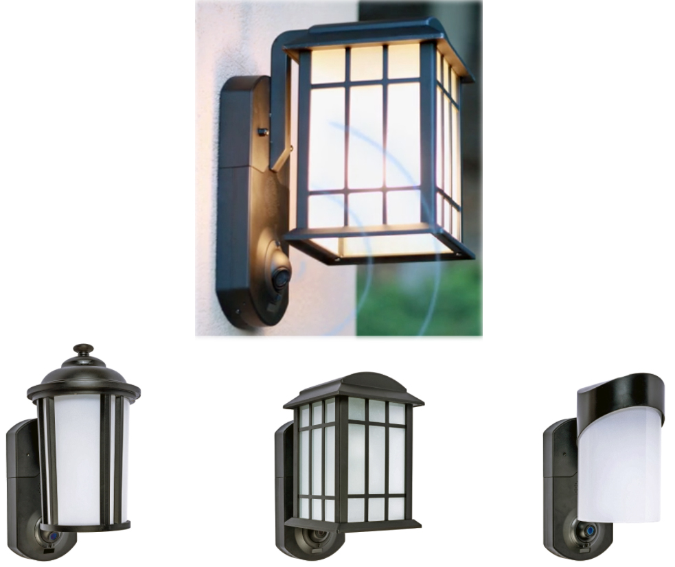 keep a eye on whats happening at your front door with the kuna lighting fixture - At Your Front Door