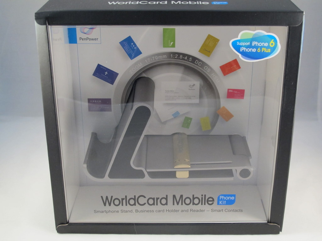 Colorful Worldcard Business Card Scanner Adornment Business Card