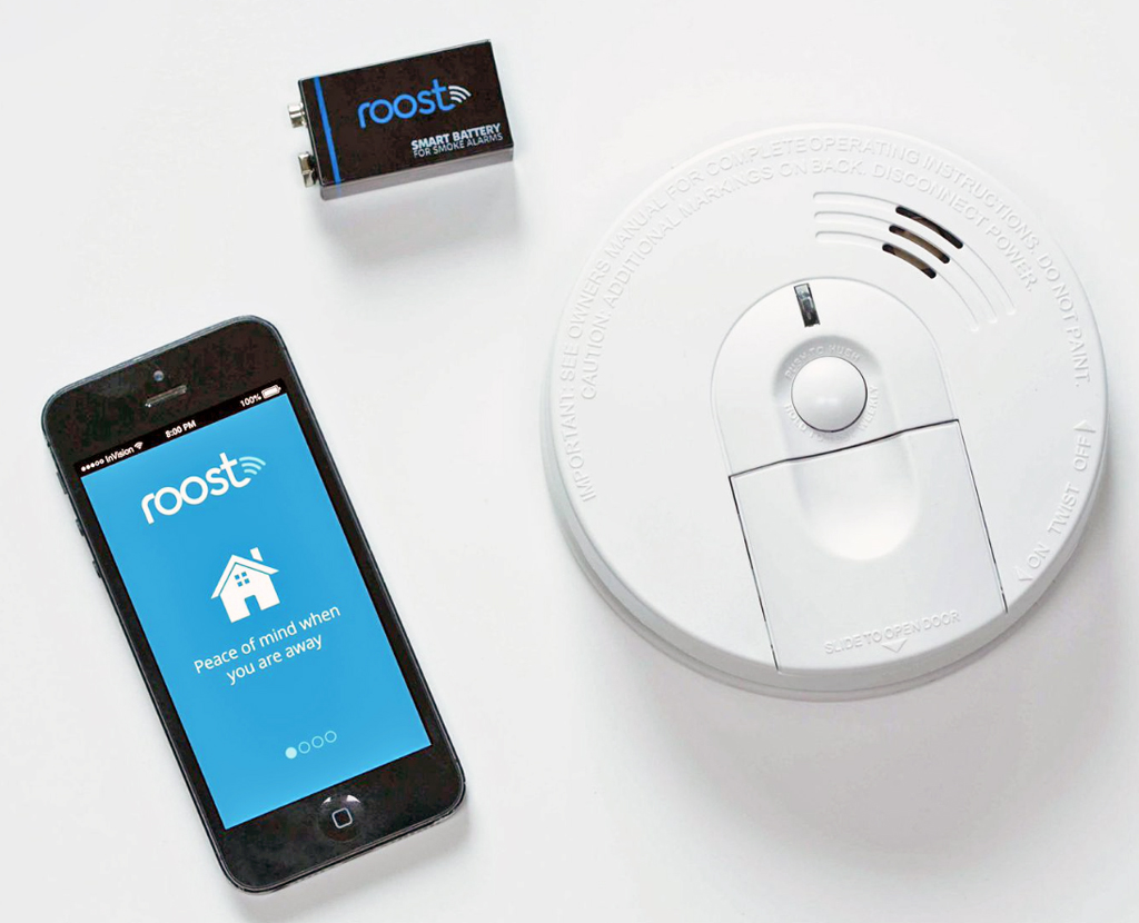 Roost Smart Batteries For Detectors