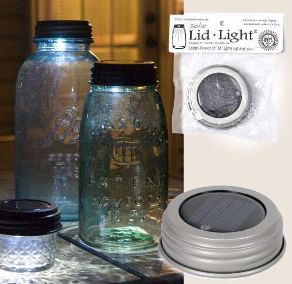 solar lid light