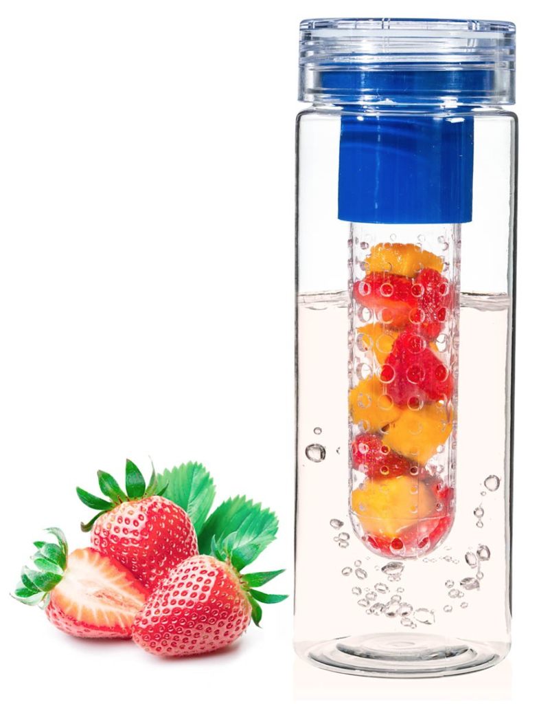 Make fruit-infused water on the go