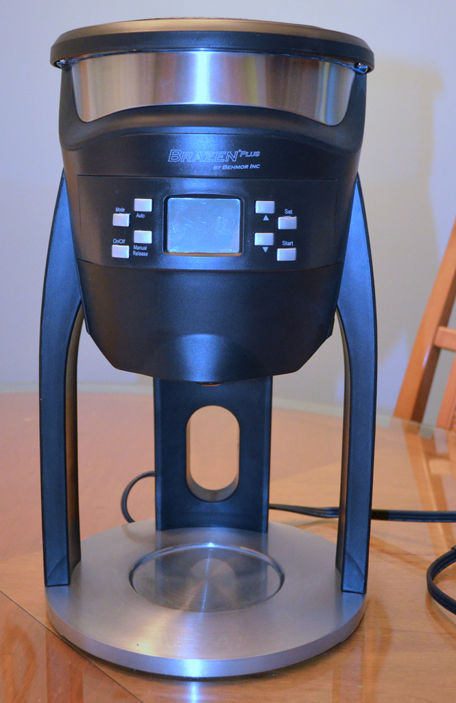 brazen plus coffeemaker 3 Commercial Coffee Maker With Water Line