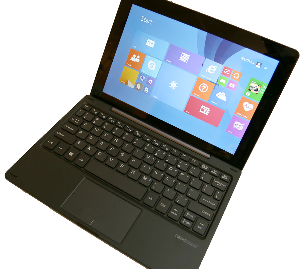 E Fun Nextbook Windows 10 1″ 2-in-1 tablet review – The