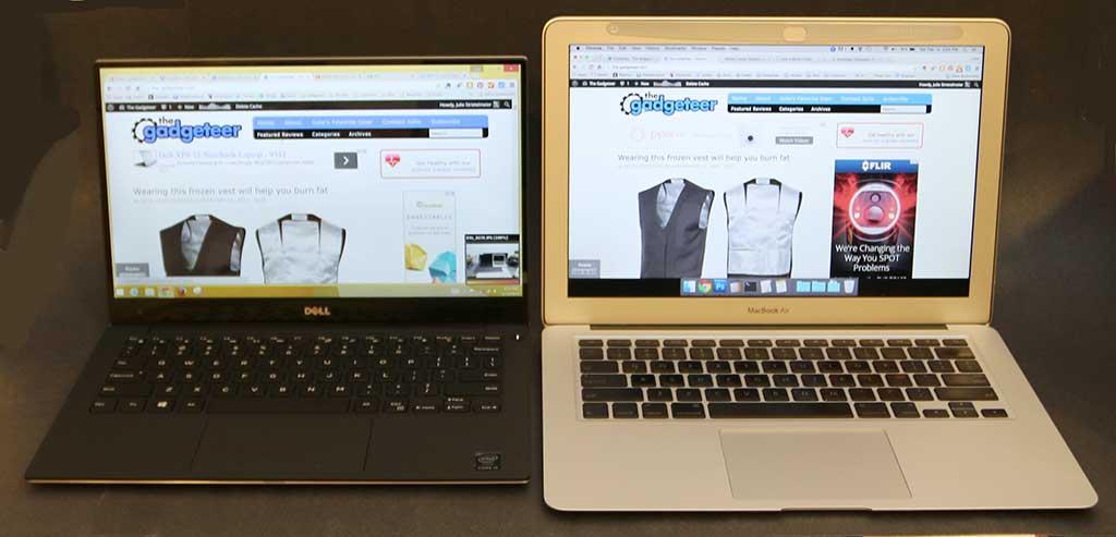 macbook air vs dell xps 13