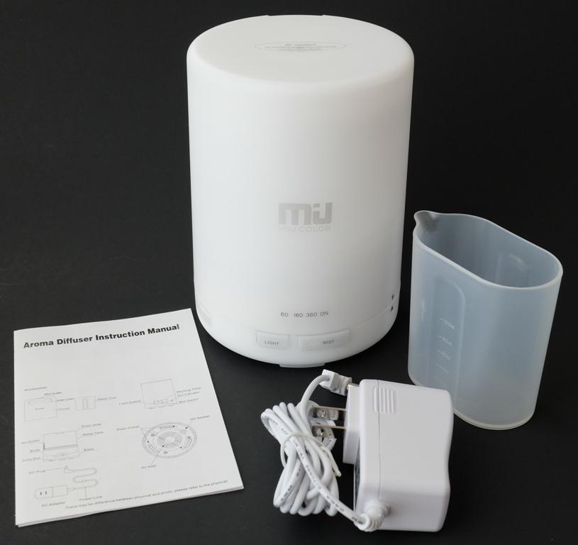 Miu Color 300 Ml Aroma Diffuser Ultrasonic Humidifier