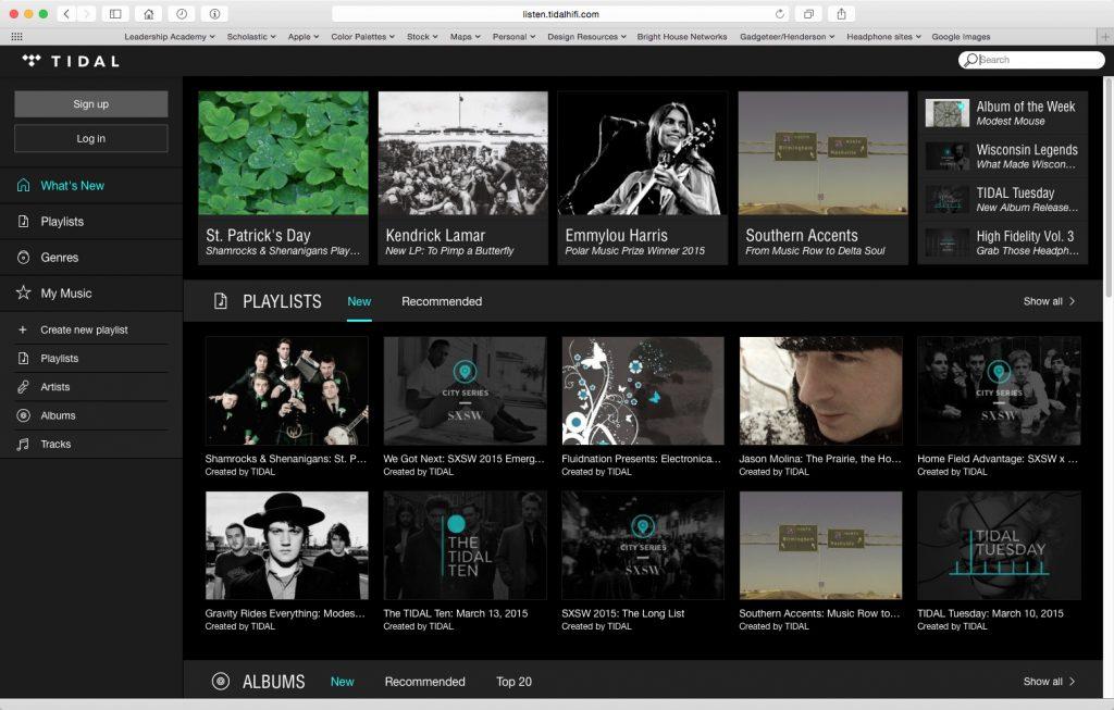Tidal Hi-Fi Music Streaming service review – The Gadgeteer