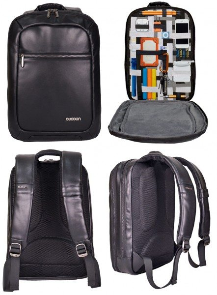 cocoon-leather-slim-backpack