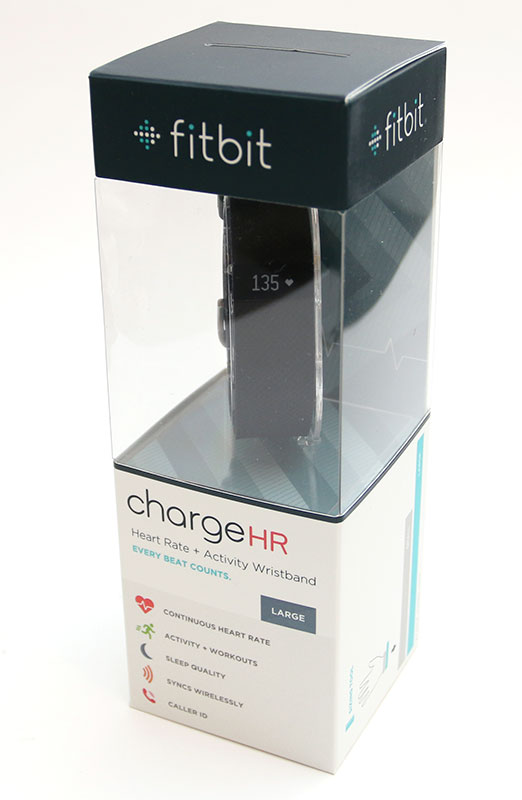 how to turn on fitbit charge hr