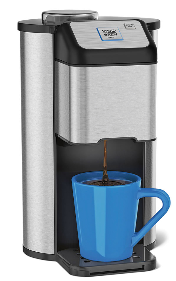 Best Coffee Maker And Grinder 2015 : The single-cup coffeemaker that grinds your own beans before brewing coffee The Gadgeteer