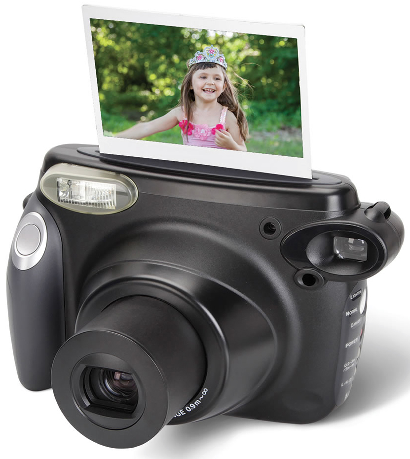 Turn back time with the Instant Photo Printing Camera – The Gadgeteer