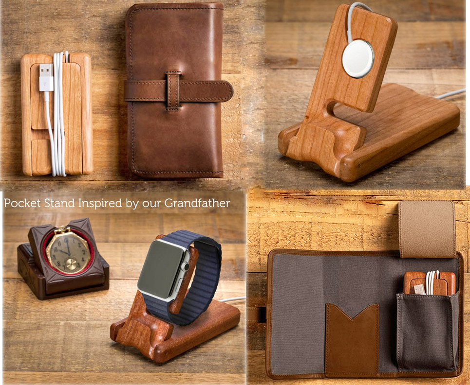 Your Apple Watch Accessories Will Travel In Style With