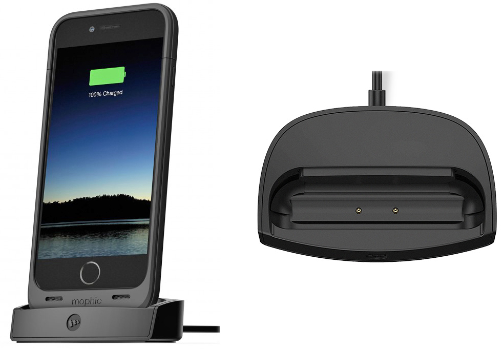 new styles 02578 cc412 Drop and charge your iPhone and mophie juice pack with this dock ...