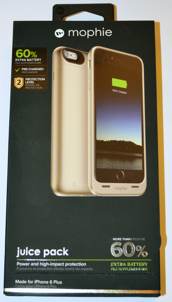 the best attitude ed88e be3fa mophie juice pack for iPhone 6 Plus review – The Gadgeteer