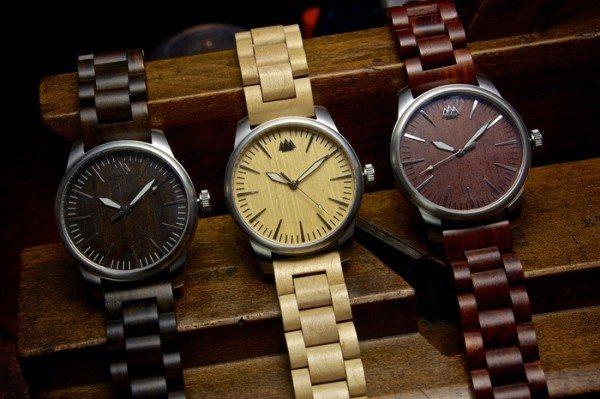 Goodwood wooden watches