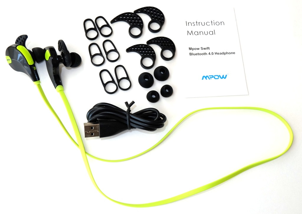 mpow swift bluetooth 4 0 headphones review the gadgeteer. Black Bedroom Furniture Sets. Home Design Ideas