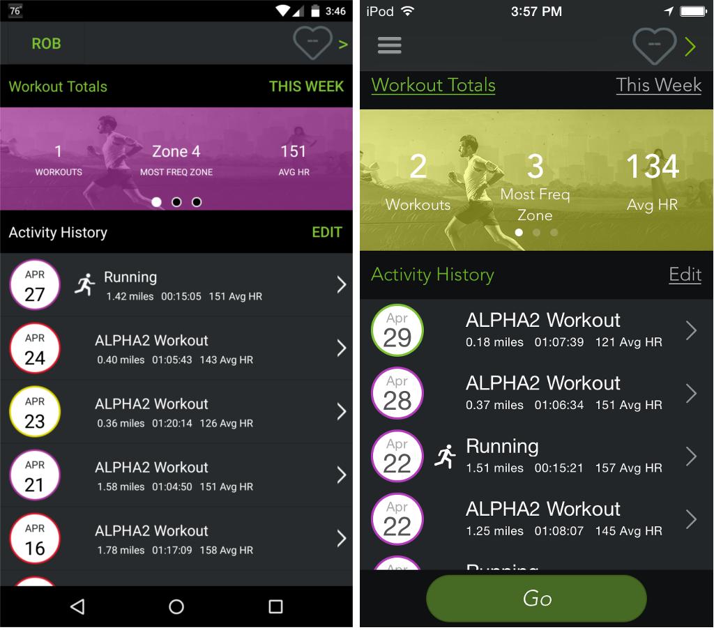 mio alpha 2 android app