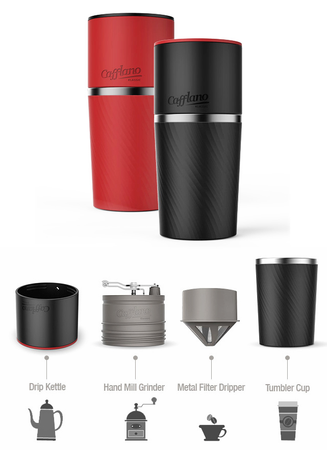 All In One Coffee Grinder And Mug