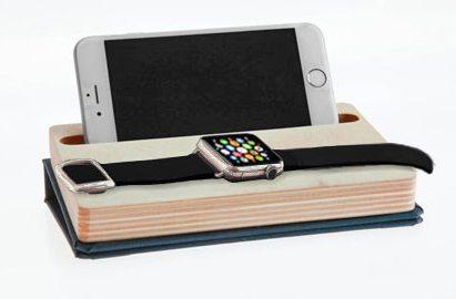 dodocase dual charging dock iphone apple watch 2