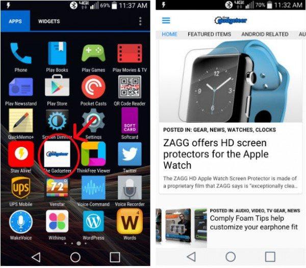gadgeteer-app