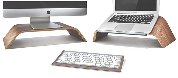 Grovemade debuts laptop stand and other wooden desktop accessories