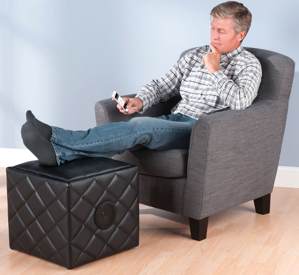 Relax By Putting Your Feet Up On A Nice Bluetooth Speaker