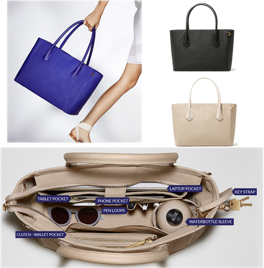 Carry All Your Gear In This Fashionable Tote From Dagne