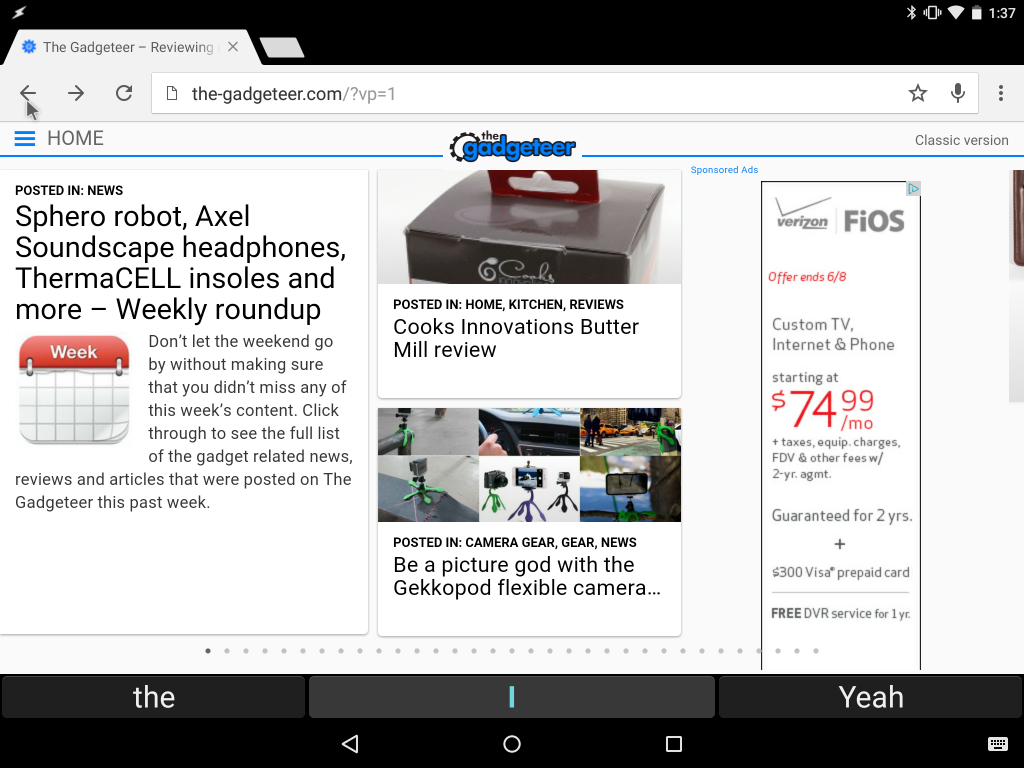 chrome open pdf preview android