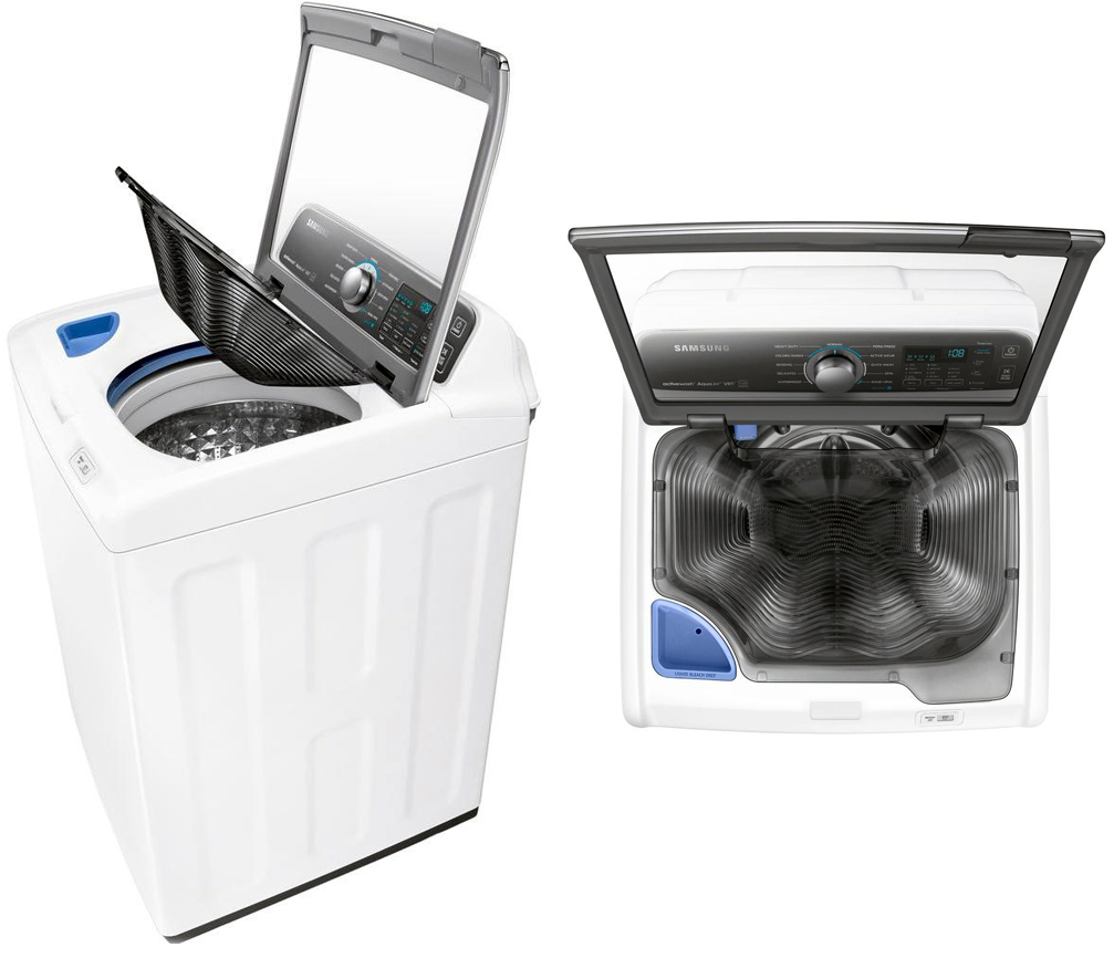 You can even handwash your clothes in the Samsung activewash ...