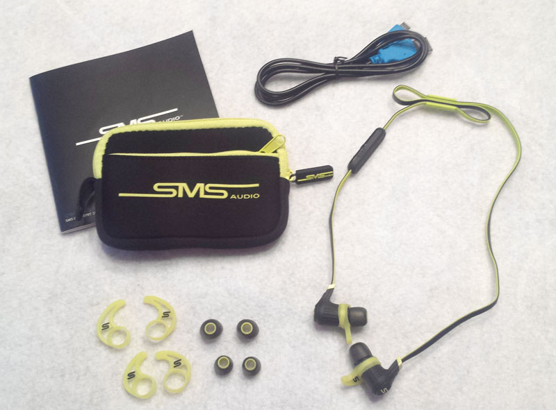 sms audio sync by 50 cent in ear wireless sport earbuds review the gadgeteer. Black Bedroom Furniture Sets. Home Design Ideas