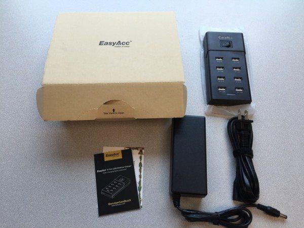 EasyAcc 8 port USB-02