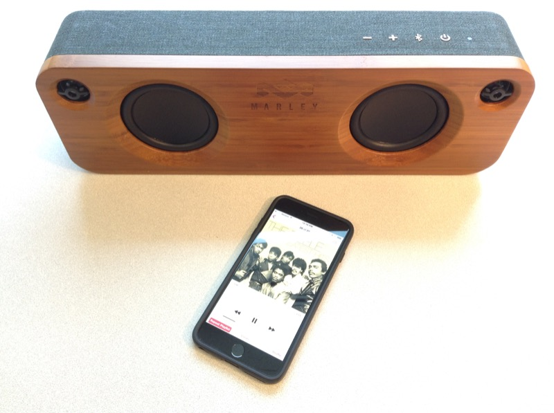 marley bluetooth speaker how to connect