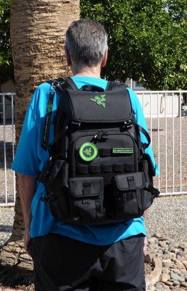 Razer Tactical Gaming Backpack-15