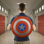 Think Geek Capt America backpack