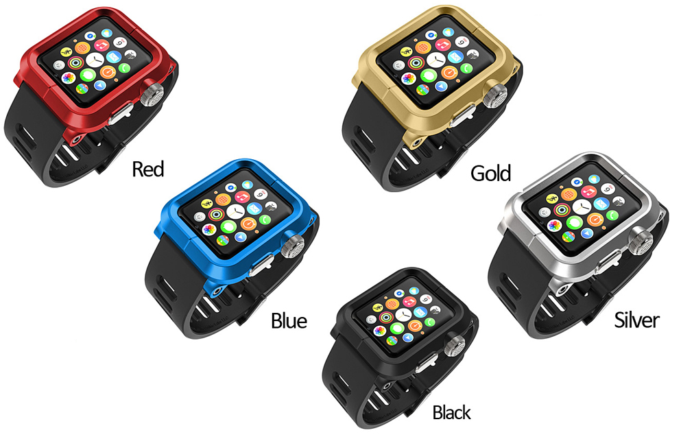 premium selection a5fa3 a084d Protect your Apple Watch with the Premium Rugged Protection System ...