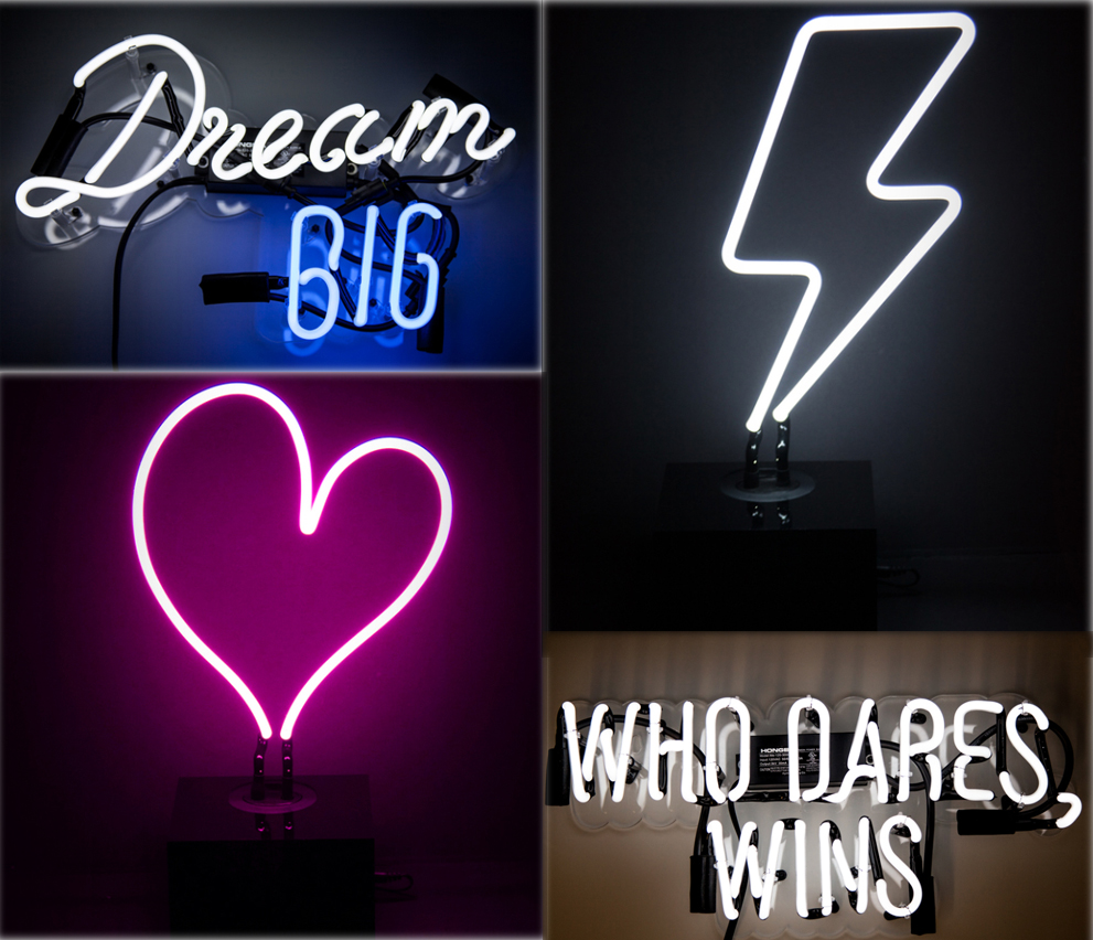 affordable neon art for your home the gadgeteer